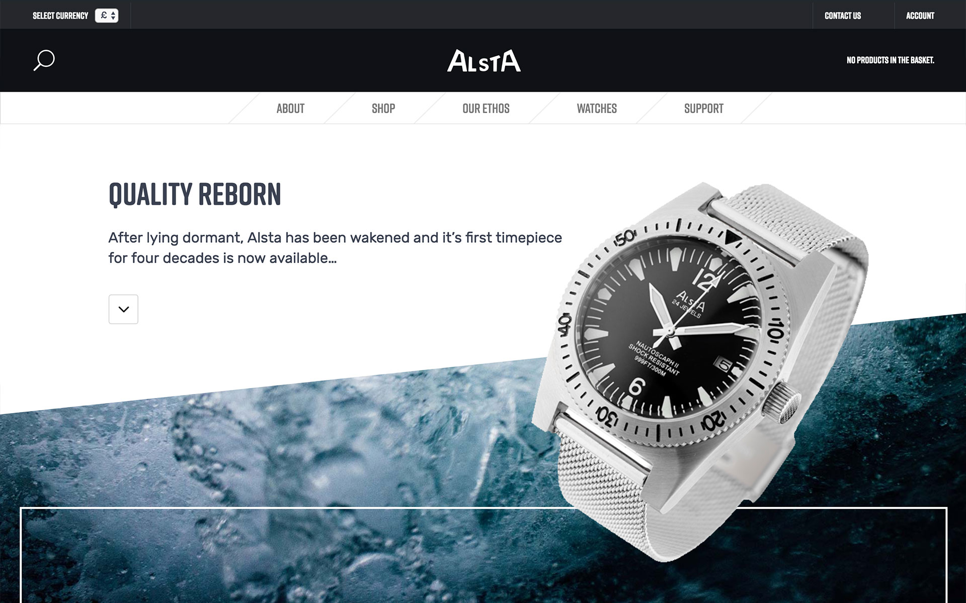 Alsta Watch Desktop View