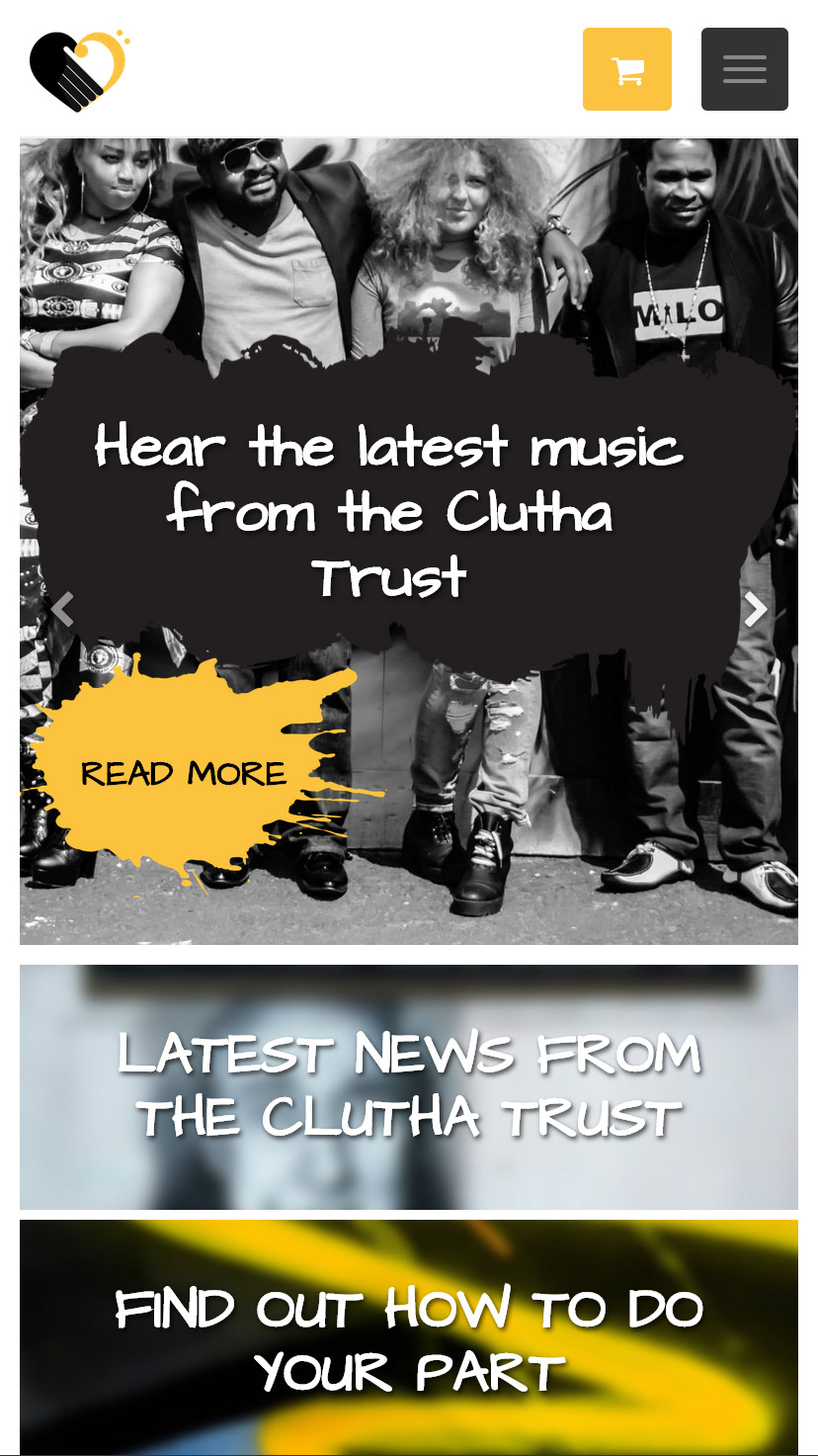 The Clutha Trust Mobile View