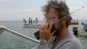 Richard Dreyfuss wearing the Alsta Nautoscaph in 'Jaws' (image courtesy of Universal Pictures).